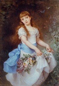 a spring dance by andré charles voillemot
