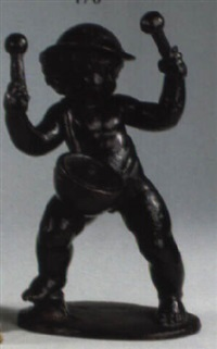 putto als trommler by otto hofner