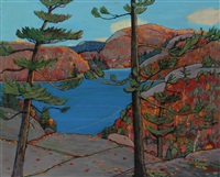 autumn panorama by colin s. macdonald