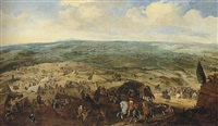 the siege of grol (groenlo) by pauwels van hillegaert