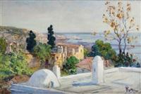 alger, vu de la villa abd-el-tif by alexandre rigotard