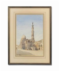 the tomb of the caliphs, cairo by richard phene spiers