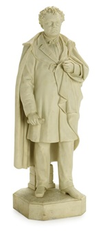 standing figure of governor john a. andrew by martin milmore