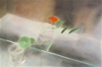 still life study of flowers by sophie aghajanian