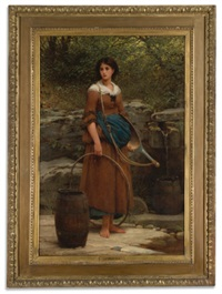 the nut brown maid by george dunlop leslie