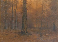 autumn glow by john elwood bundy