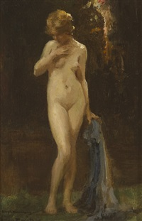 standing nude by allan douglas davidson