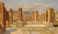 les ruines de pompéi by nicola ascione