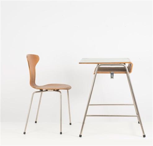 Munkegaard by und Stuhl Arne Jacobsen on Pult 3105 artnet uPZkOXiT