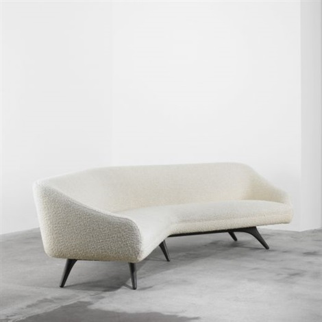 Wide Angle Sofa By Vladimir Kagan