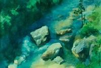 山溪 by luo zonghai