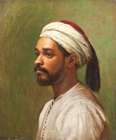 orientalisches männerportrait by w.g.g. jackson