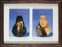 deux collages originaux (2 works in 1 frame) by jiri kolar