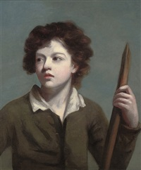 portrait of a young boy by john opie