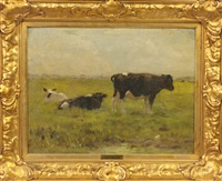 cows by willem maris