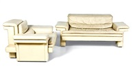 settee and armchair (set of 2) by rene haas