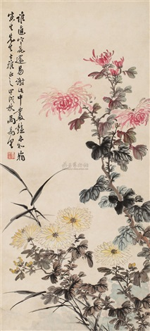 秋菊 by ma wanli