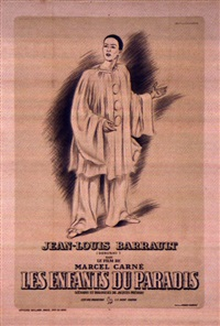 les enfants du paradis: jean-louis barrault by posters: movie