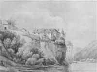 dürnstein in der wachau by friedrich von exter