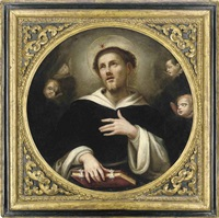 saint dominic by lodovico carracci
