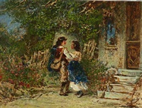 courting by otto reinhold jacobi