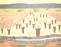 paisaje de castilla by godofredo ortega muñoz