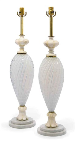 Table lamps pair by ferro murano on artnet table lamps pair by ferro murano aloadofball Image collections