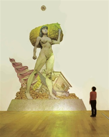 monument for nothing by makoto aida