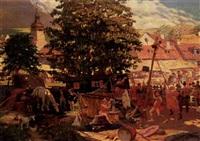 the village fair by josef koci