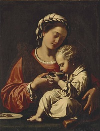 the madonna and child by antiveduto grammatica