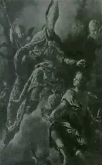 saint augustin en apotheose by isidro rodriguez de ribera