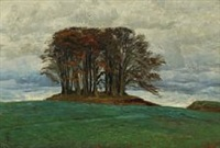 barrow near the hermitage palace north of copenhagen by thorvald simeon niss