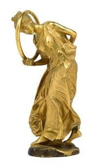 a dancer with hoop by jean-léon gérôme