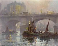 london bridge by george ayling
