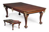 dining billiard table by w. jelks and sons