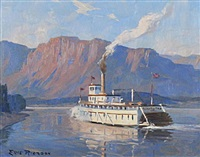 paddle steamer by eric riordon