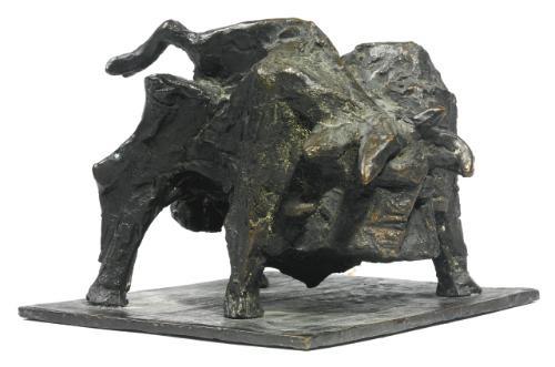 fighting bull by anthony caro