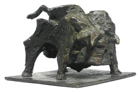 fighting bull by sir anthony caro