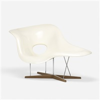 la chaise by charles and ray eames
