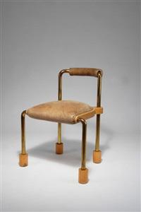 stuhl für die ausstellung möbel perdu by thomas bley