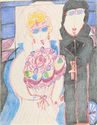 mariage des lilas goergeus à noël by aloise