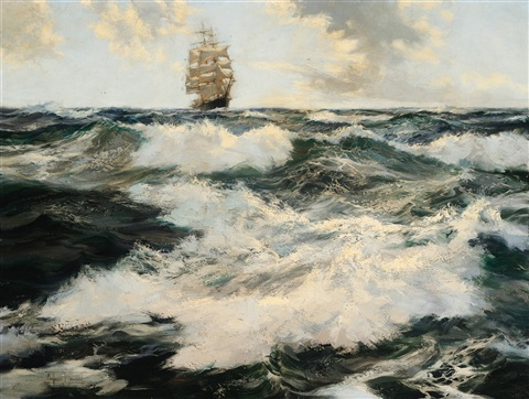 the boundless ocean by montague dawson