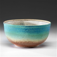 large green bowl by karen karnes