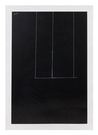 london series 1 (black) by robert motherwell