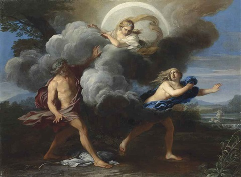 alpheus and arethusa by carlo maratta