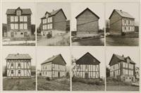 ansichten eines wohnhauses in birken bei siegen (8 works) by bernd and hilla becher