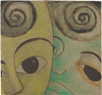 head by francesco clemente