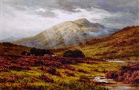 ben cruachan from inverlochy, argyllshire by henry decon hillier