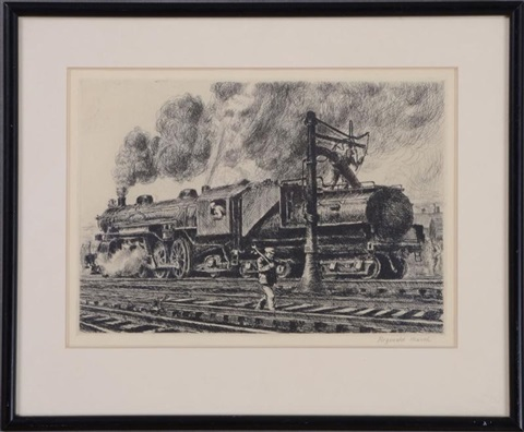 loco erie watering by reginald marsh