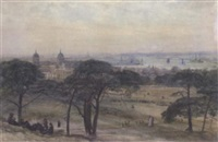 greenwich park by john william inchbold
